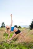 Yoga woman Stock Photo