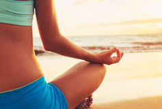 Yoga Woman Stock Images