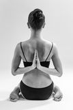 Yoga woman Royalty Free Stock Photos