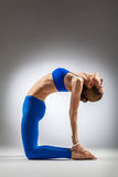 The yoga woman Royalty Free Stock Image