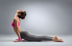 The yoga woman Royalty Free Stock Photo