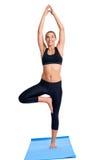 Yoga women isolated Stock Photography