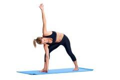 Yoga women isolated Stock Photos