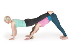 Yoga women position_160 Stock Images