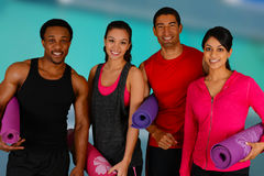 Yoga Workout Stock Photography