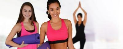 Yoga Workout Royalty Free Stock Image