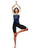Yoga. A young woman performing yoga Royalty Free Stock Photo