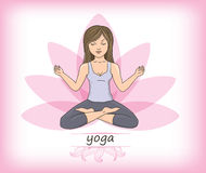 Yoga zen Royalty Free Stock Images