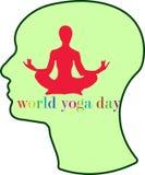 Yoga Zen logo Stock Images