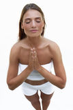 Yogaart Lizenzfreie Stockbilder