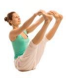 Yogaflicka Fotografering för Bildbyråer