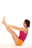 Yogafrau Lizenzfreie Stockfotografie