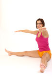 Yogafrau Stockfotografie