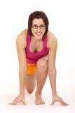 Yogafrau Stockfotos