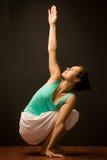Yogagrupp Royaltyfri Bild