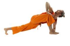 Yogahaltung Lizenzfreie Stockbilder