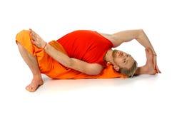 Yogahaltung Stockfotos