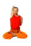 Yogahaltung - Lotos Lizenzfreie Stockfotografie
