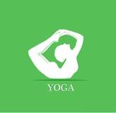 Yogahaltungen Stockbilder