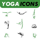 Yogaikonen Stockbilder