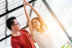 Yogalektion Lizenzfreie Stockfotografie