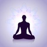 Yogamann Lizenzfreie Stockfotografie