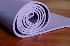 Yogamat royalty-vrije stock foto's