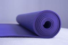 Yogamatte Stockbild