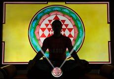 Yogameditation Lizenzfreies Stockbild