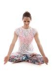 Yogameditation Fotografering för Bildbyråer