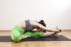 Yogameditation Stockfotos