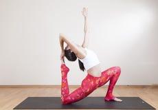 Yogameditation Arkivbild