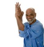 Yogameister Stockfoto