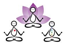 Yogamens Stock Foto's