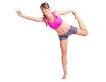 Yogaoefening stock fotografie