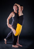 Yogapaare Lizenzfreies Stockfoto