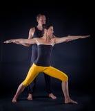 Yogapaare Lizenzfreies Stockbild