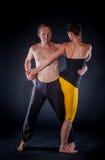 Yogapaare Lizenzfreie Stockfotos