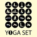 Yogapinneman Arkivbilder
