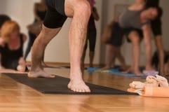 Yogapraktijk Stock Afbeelding
