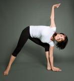 Yogapraxis stockfoto