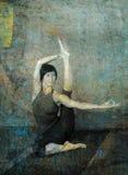 Yogasana ilustración del vector