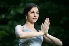 Yogastellung Lizenzfreie Stockbilder