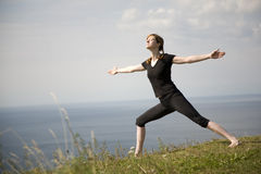 YogaWarrior. Taille de XL photo stock