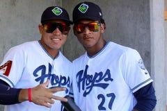 Yogey Perez-Romos & Cesar Carrasco stock photo