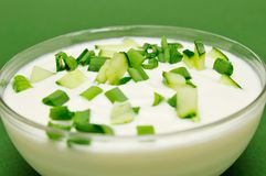 Yoghurt Stock Photo