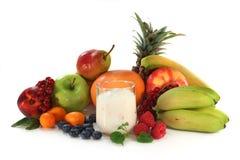 yoghurt royaltyfri bild