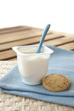 Yoghurt Arkivfoton