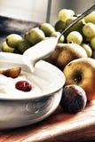 Yoghurt Royalty-vrije Stock Afbeelding