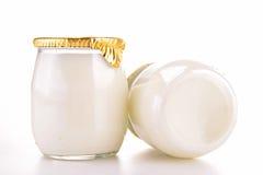 Yoghurt royaltyfri fotografi